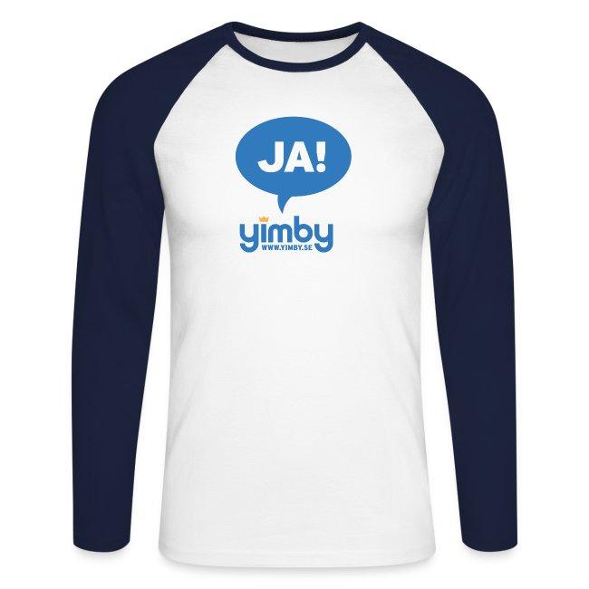 Yimby.se-logotyp med JA!