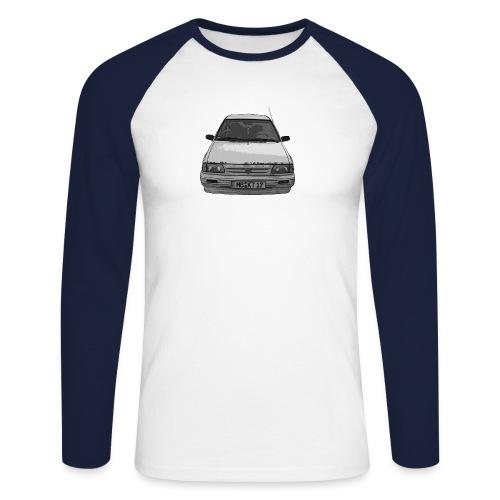 ktshirtpng - Männer Baseballshirt langarm