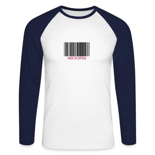 made srpska2 - Men's Long Sleeve Baseball T-Shirt