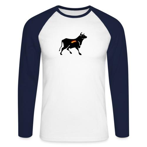 toro español - Raglán manga larga hombre