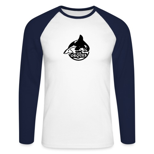 orques cholet roller hockey - T-shirt baseball manches longues Homme