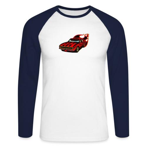 auto fahrzeug rennwagen - Männer Baseballshirt langarm