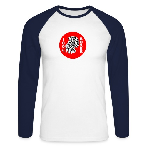 rb14li9 - T-shirt baseball manches longues Homme