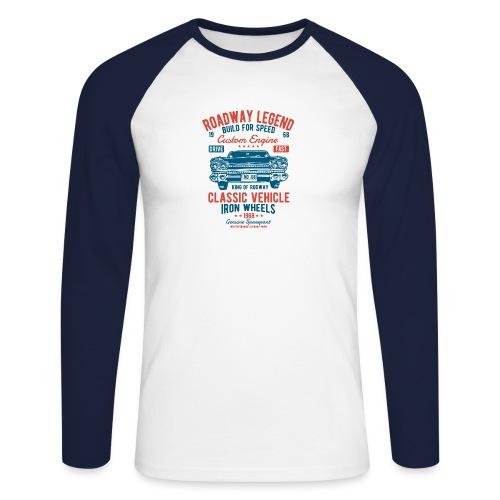 Roadway Legend - Mannen baseballshirt lange mouw