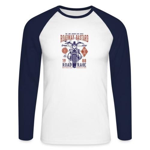 Roadway Bastard - Mannen baseballshirt lange mouw