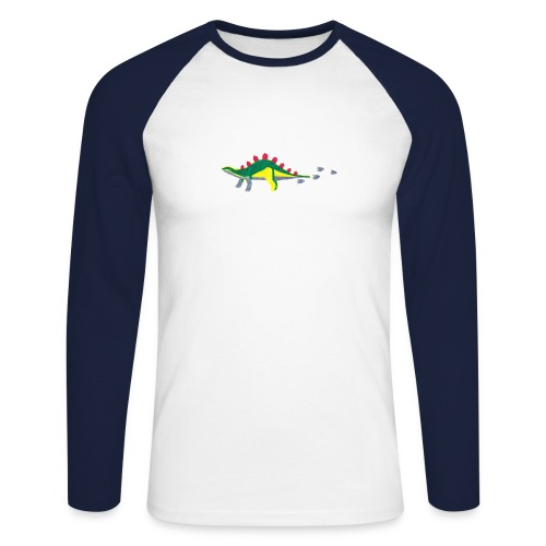 dino - Männer Baseballshirt langarm