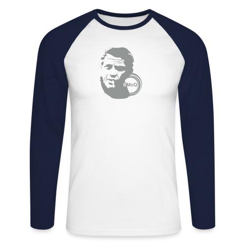 mcqueen flock - Men's Long Sleeve Baseball T-Shirt