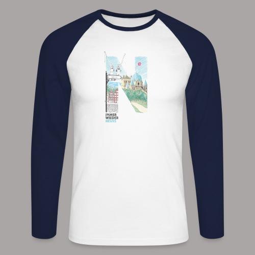 Immer wieder Neuss Tshirt für Kinder von MaximN - Männer Baseballshirt langarm