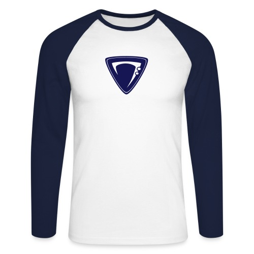 Bass Clef Classic - Männer Baseballshirt langarm