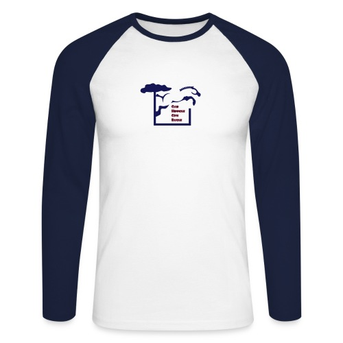 chcb logovecto - T-shirt baseball manches longues Homme