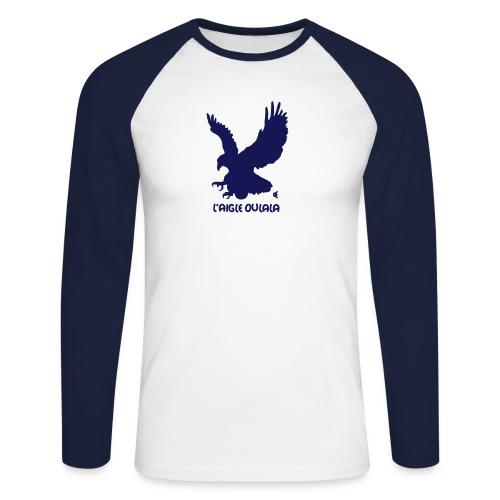 aigle oulala - T-shirt baseball manches longues Homme