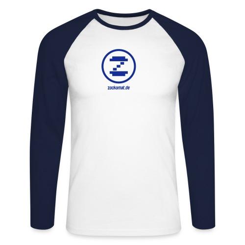 zockomatlogo - Männer Baseballshirt langarm
