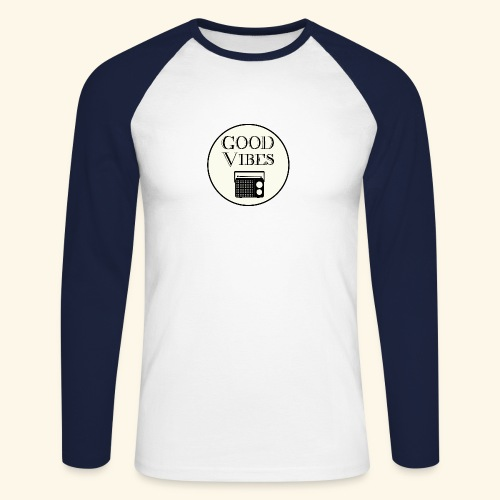 Vibes is music - T-shirt baseball manches longues Homme