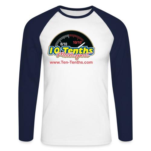 tententhswithurl - Men's Long Sleeve Baseball T-Shirt