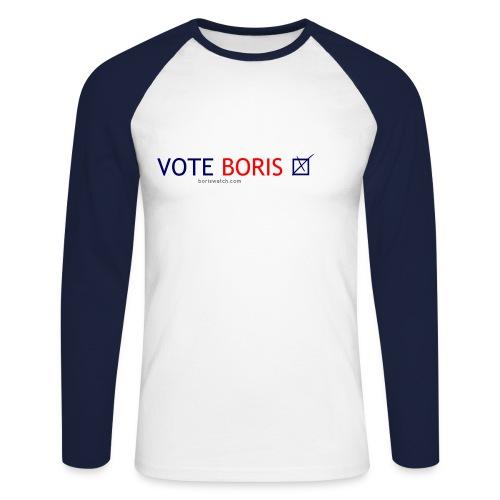 Vote Boris - Mug - Men's Long Sleeve Baseball T-Shirt