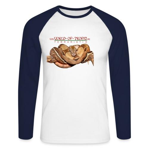 o138026 - Männer Baseballshirt langarm