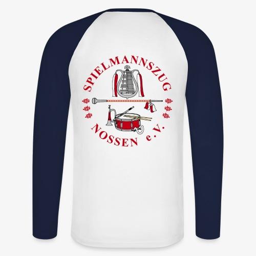 SPMZ wappen - Männer Baseballshirt langarm