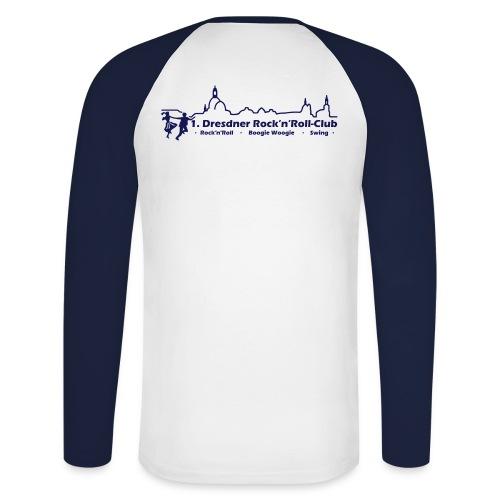 Logo Boogie - Männer Baseballshirt langarm