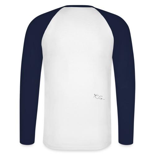 kggrafitti - Langermet baseball-skjorte for menn