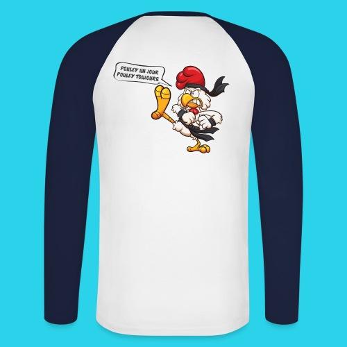 Les Pouleyyys - T-shirt baseball manches longues Homme