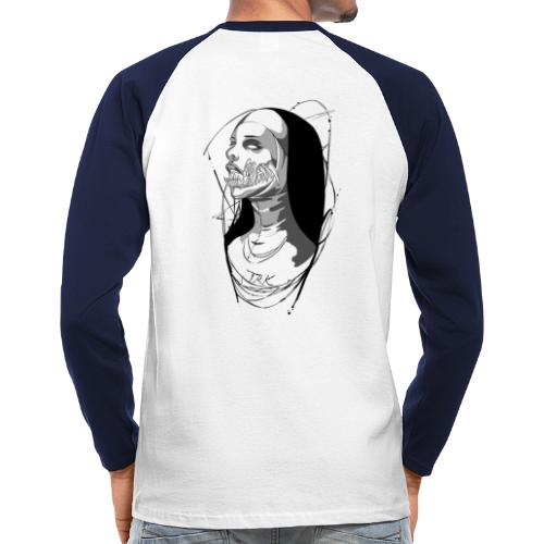 Nun hell - T-shirt baseball manches longues Homme