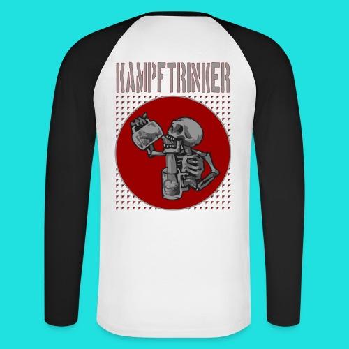 Kampftrinker - Männer Baseballshirt langarm