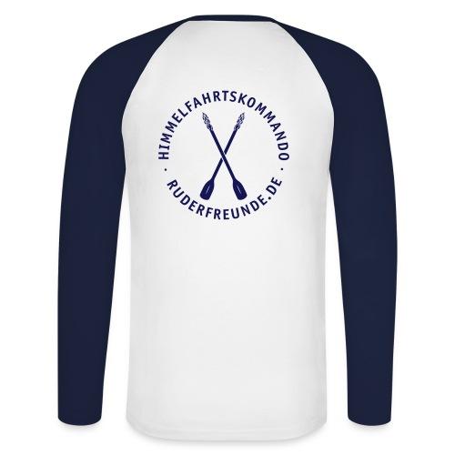 ruderfreunde03v - Männer Baseballshirt langarm