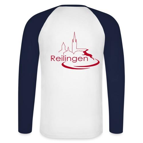 Reilingen - Logo 02 - Männer Baseballshirt langarm