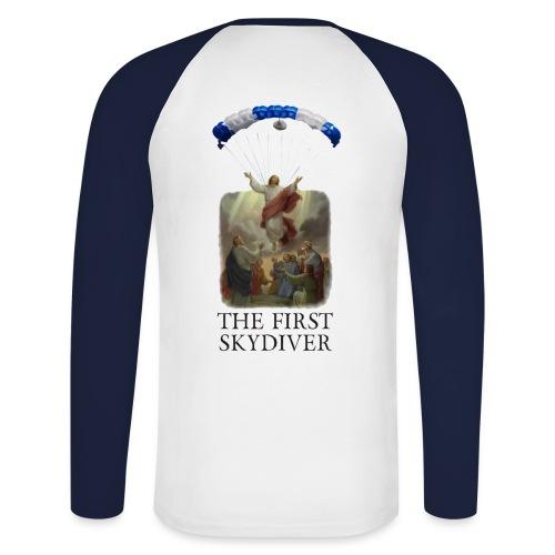 skydiver 02 - Männer Baseballshirt langarm