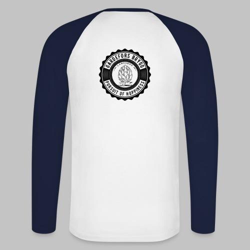 Gardefors Brygg Logo - Långärmad basebolltröja herr