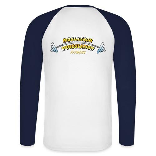 mouilleron muscu logo pour tee shirt 311 - T-shirt baseball manches longues Homme
