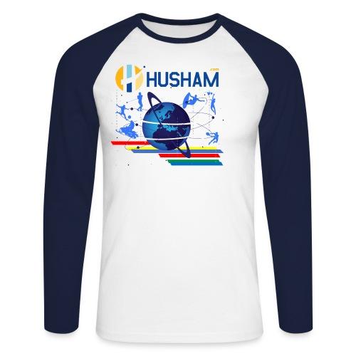 Husham.cm - Men's Long Sleeve Baseball T-Shirt