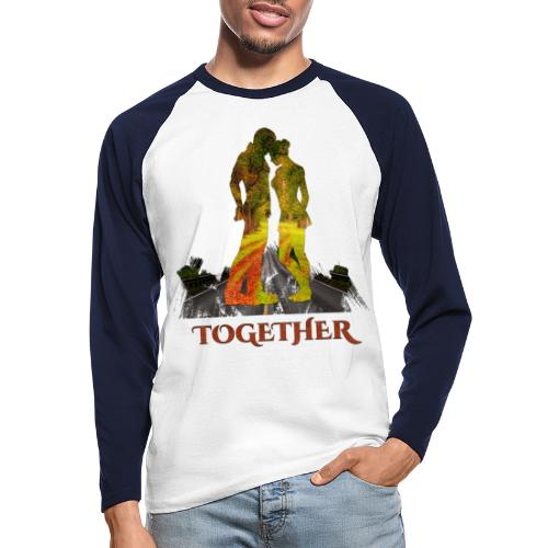 Together -by- T-shirt chic et choc - T-shirt baseball manches longues Homme