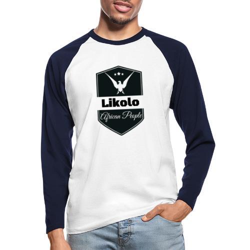 Likolo - T-shirt baseball manches longues Homme
