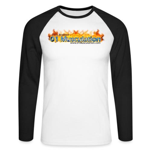logotshirt - T-shirt baseball manches longues Homme