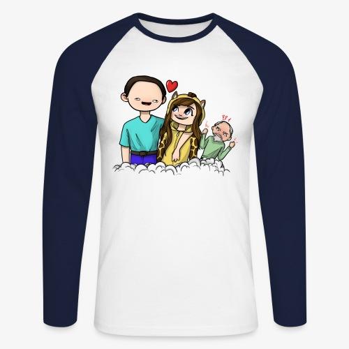 *Limited Edition* Esmee ❤️ Teun (Boze vader) - Mannen baseballshirt lange mouw