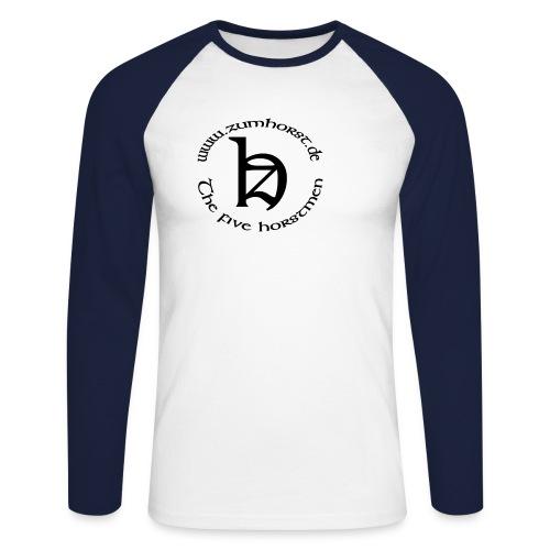 logo zum horst - Männer Baseballshirt langarm
