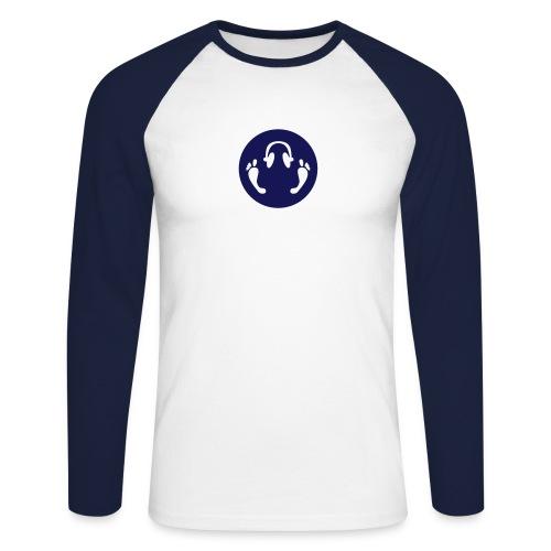 tilo logo illustrator - Men's Long Sleeve Baseball T-Shirt