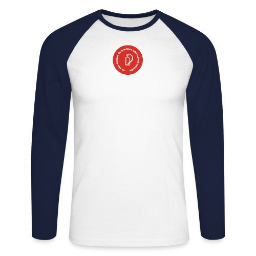 logo equipier incendie - T-shirt baseball manches longues Homme