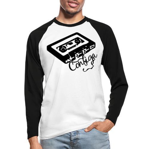 Vintage Configa - Men's Long Sleeve Baseball T-Shirt