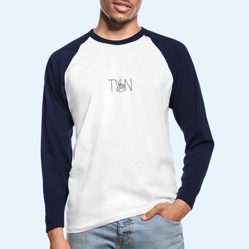 LOGOBRO - Men's Long Sleeve Baseball T-Shirt