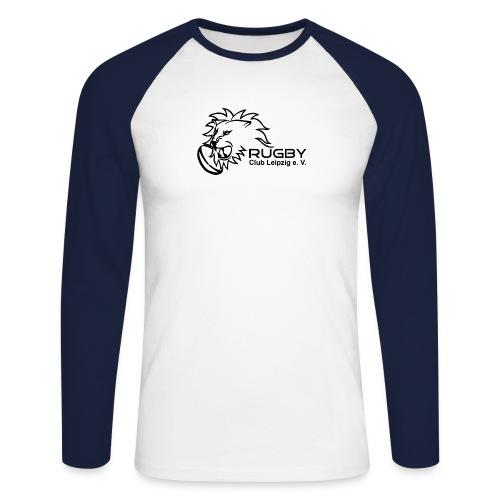 Logo RCL weiß cmyk png - Männer Baseballshirt langarm