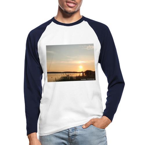 SCD03 - Männer Baseballshirt langarm