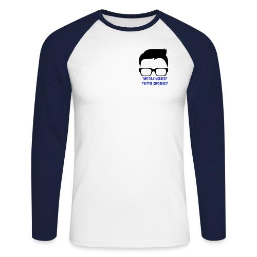 silloette - Men's Long Sleeve Baseball T-Shirt