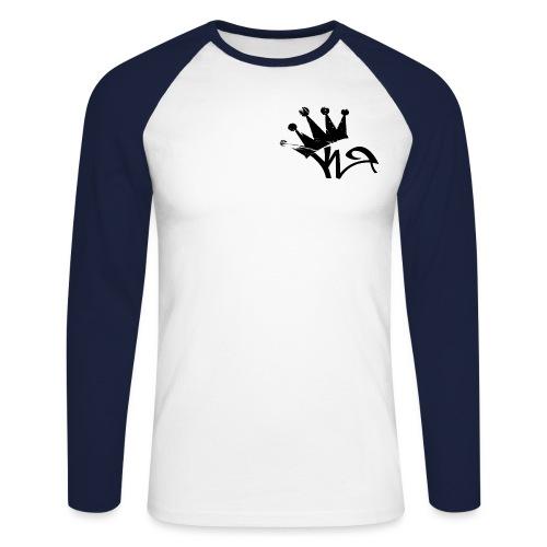 Crown - Men's Long Sleeve Baseball T-Shirt