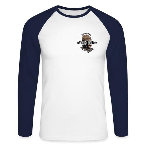 glob fuerw grd jpg - Männer Baseballshirt langarm