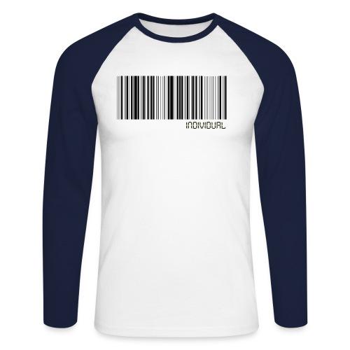 barcodeindividual - Men's Long Sleeve Baseball T-Shirt