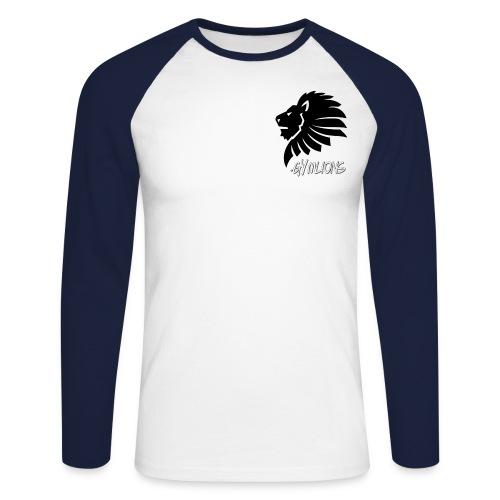 Gymlions T-Shirt - Männer Baseballshirt langarm