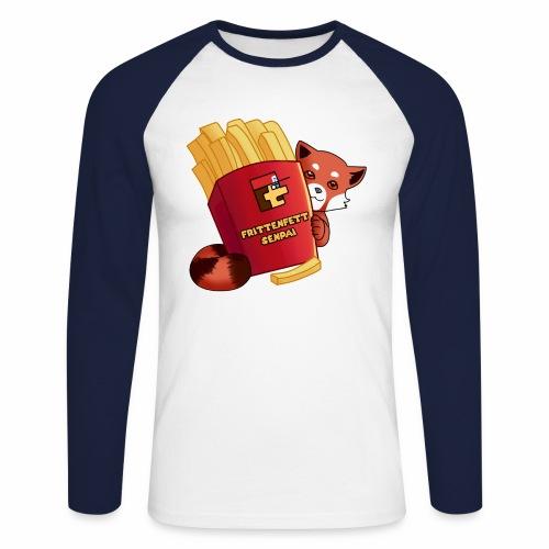 frittenfettSenpai - Männer Baseballshirt langarm