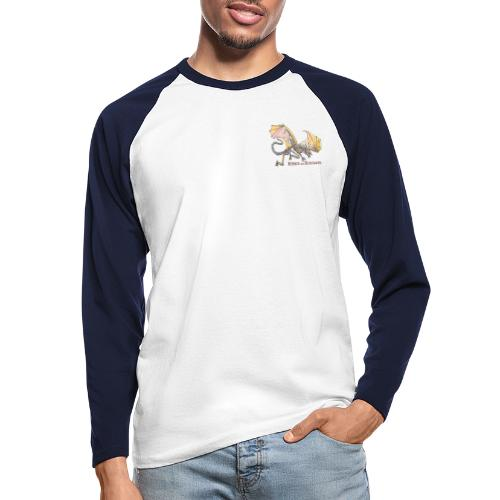 Bonedragon - Männer Baseballshirt langarm